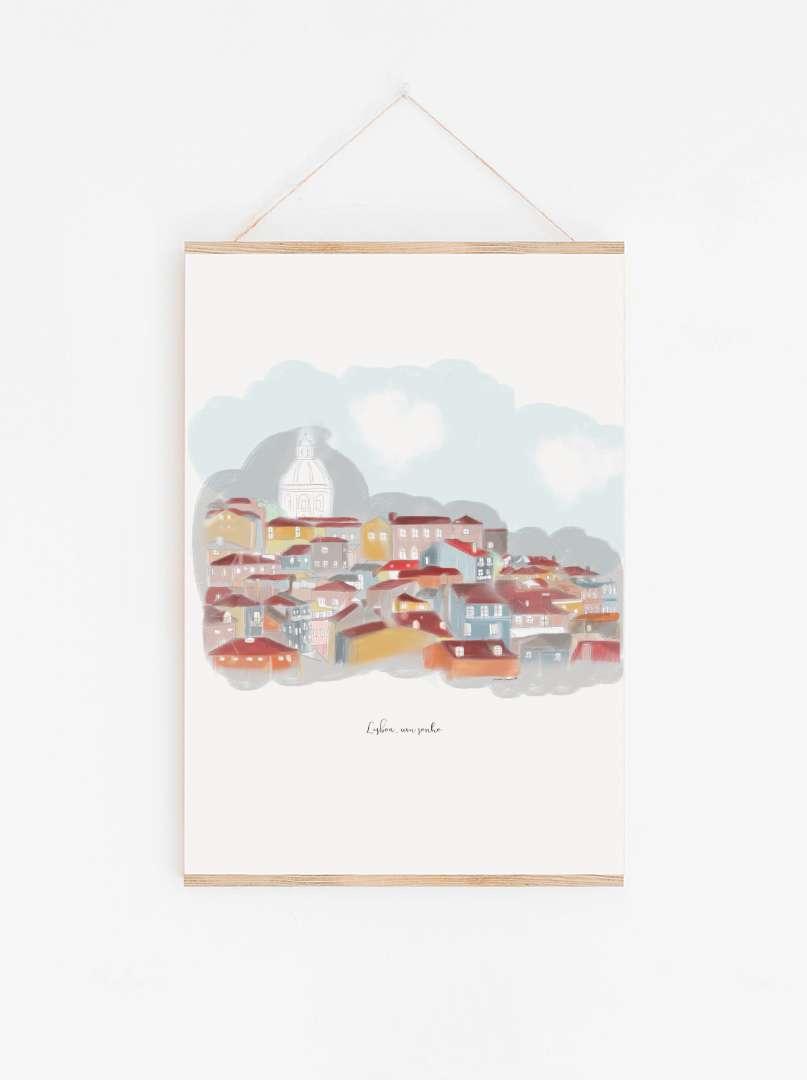 maria carvao art print lisboa2 | Maria Carvão